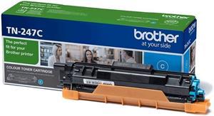 Brother TN-247C, cyan, 2300 strán