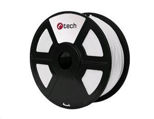 C-TECH (filament) PETG, 1,75 mm, biela