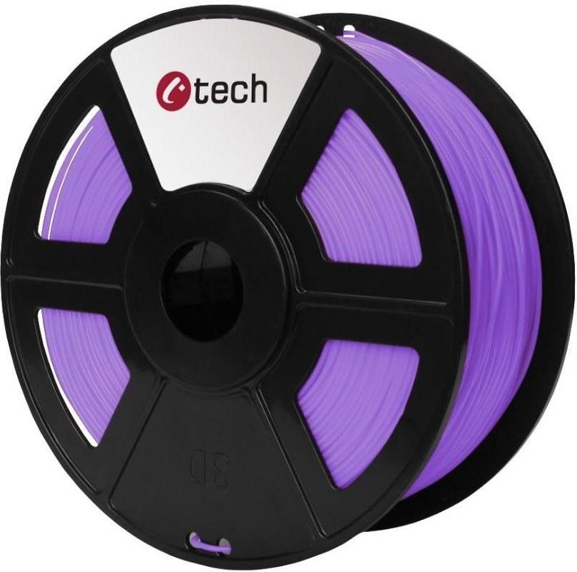C-TECH ( filament ) , PLA, 1,75mm, fialová