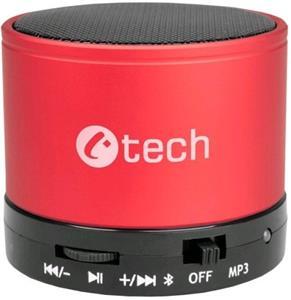 C-TECH SPK-04R, reproduktor, červený