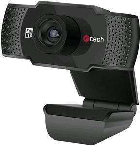C-TECH webkamera CAM-11FHD, čierna