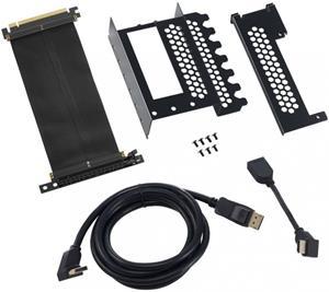 CableMod vertikale Grafikkartenhalterung mit PCIe x16 Riser Kabe