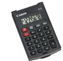 Canon AS-8 kalkulačka vrecková, čierna
