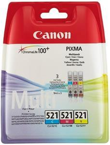 Canon CLI-521, farebný, 9ml