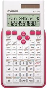 Canon F-715SG kalkulačka vedecká, bielo-ružová