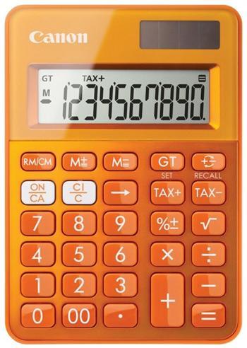 Canon LS-100K kalkulačka vrecková, oranžová