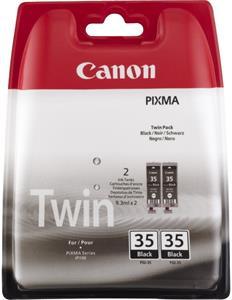 Canon PGI-35BK, čierna, 2x9,3ml