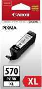 Canon PGI-570XL, čierna, 22ml