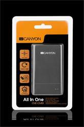 Canyon čítačka kariet/USB HUB CNE-CMB1 externá all in 1