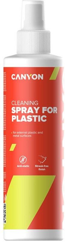 Canyon CNE-CCL22 čistiaci sprej na plastové a kovové povrchy, 250 ml plastová fľaša