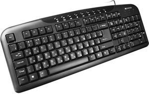 Canyon CNE-CKEY2-SK klávesnica, USB, multimediálna, štíhla, SK