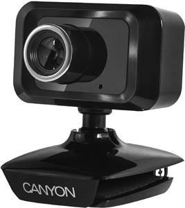 Canyon CNE-CWC1 webkamera, 1,3 Mpx, mikrofón