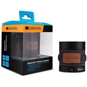 Canyon CNS-CBTSP1B Bluetooth bezdrôtový reproduktor, štýlový jeansový poťah, čierny