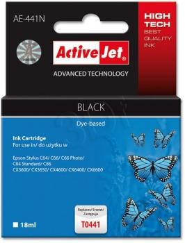 Cartridge ActiveJet EPSON T0441 black 16 ml