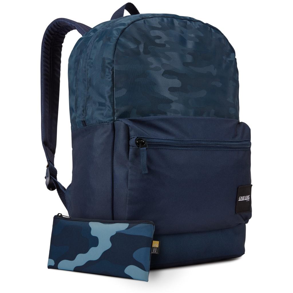 Case Logic CCAM2126, Founder batoh 26L, modrý so vzorom