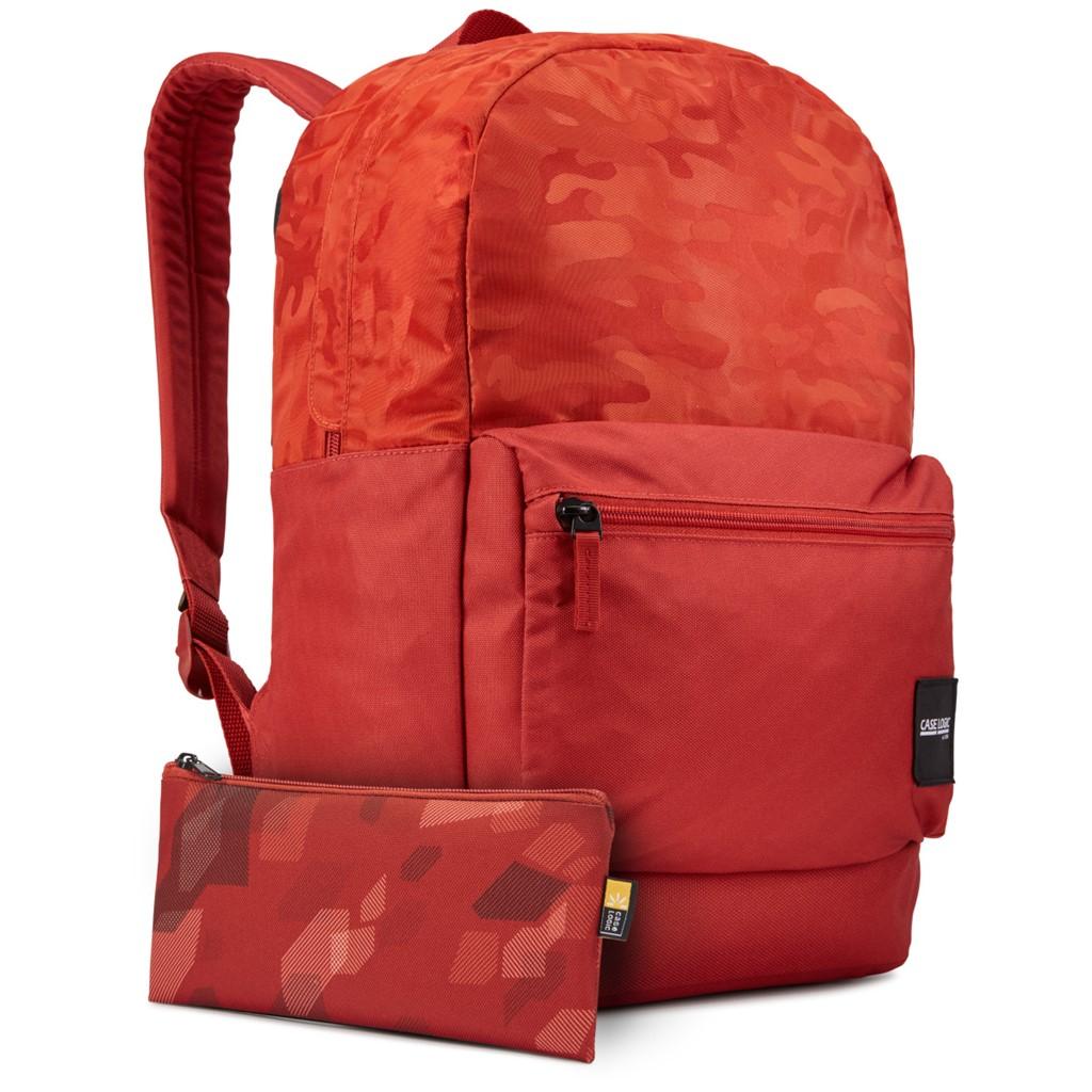 Case Logic CCAM2126 Founder batoh 26L, tehlovo červený so vzorom