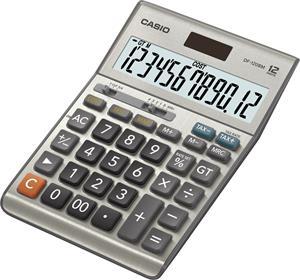Casio DF 120 B MS kalkulačka stolná, strieborná