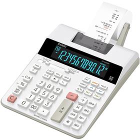 Casio FR 2650 RC kalkulačka s tlačou, biela