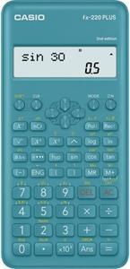 Casio FX 220 PLUS 2nd kalkulačka vedecká, modrá