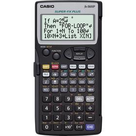 Casio FX 5800 P kalkulačka vedecká, čierna