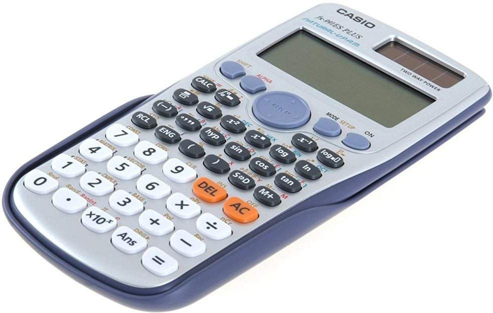 Casio FX 991 ES PLUS (w) kalkulačka, sivá