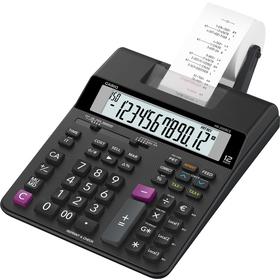 Casio HR 200 RCE kalkulačka s tlačou, čierna