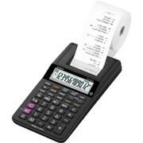 Casio HR 8 RCE BK kalkulačka s tlačou, čierna