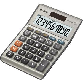 Casio MS 100 B MS kalkulačka stolná, strieborná