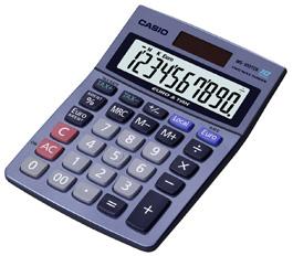 Casio MS-100TER kalkulačka stolná, modrá