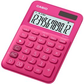 Casio MS 20 UC kalkulačka stolná, tmavo-ružová