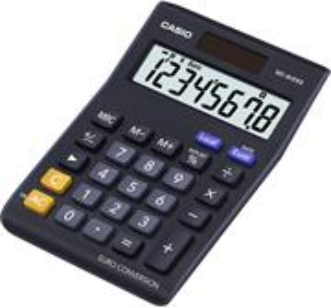 Casio MS 8 VER II kalkulačka stolná, čierna