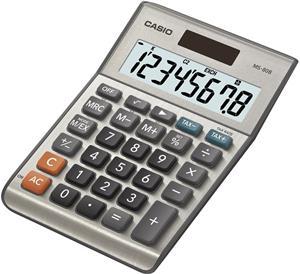 Casio MS 80 B kalkulačka stolná, strieborná