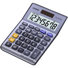 Casio MS 80 VER II kalkulačka stolná, strieborná