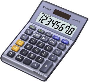 Casio MS 88 TER II kalkulačka stolná, strieborná