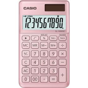 Casio SL 1000 SC kalkulačka vrecková, ružová