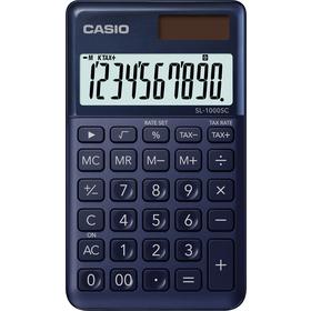 Casio SL 1000 SC kalkulačka vrecková, tmavo-modrá
