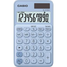 Casio SL 310 UC LB kalkulačka vrecková, svetlo-modrá