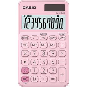 Casio SL 310 UC PK kalkulačka vrecková, ružová