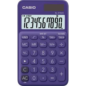 Casio SL 310 UC PL kalkulačka vrecková, fialová