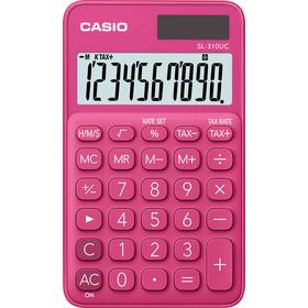 Casio SL 310 UC RD kalkulačka vrecková, ružová