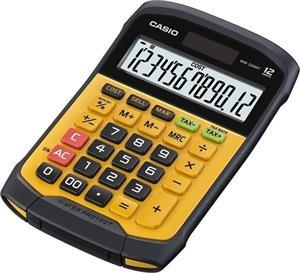 Casio WM 320 MT WATERPROOF kalkulačka stolná, čierno-žltá