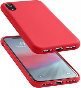 CellularLine SENSATION, silikónový kryt pre Apple iPhone XR, červený