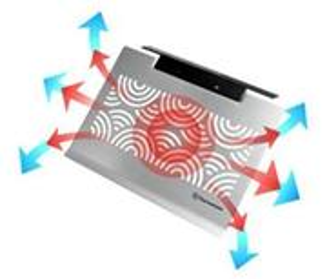 "Chladiaca podložka WaveX 15"" Notebook Cooler and Ergonomical Pad pod n"