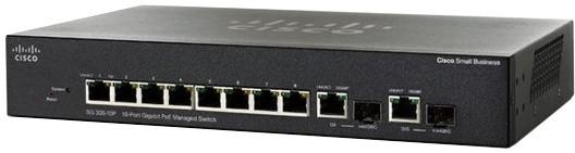 Cisco SG350-10P, 10xGb, PoE+