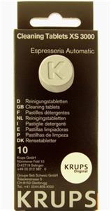 Čistiace tablety KRUPS XS 300010 pre espresá