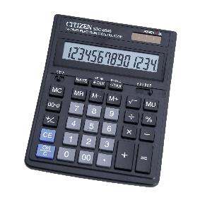 Citizen SDC-554S kalkulačka stolná, čierna