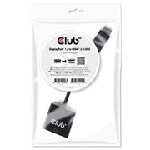 Club3D DisplayPort 1.2 to HDMI 2.0 UHD Active Adapter