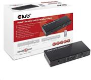 Club3D HDMI 2.0 UHD Switchbox (4 Porty)