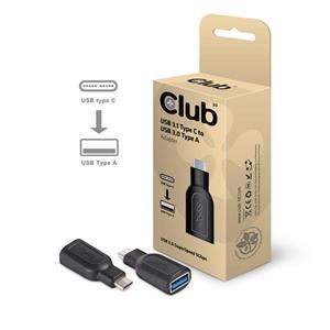 Club3D USB3.1C-USB3.0A redukcia M/F, adaptér