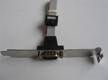 COM port - 30 cm - zadní záslepka do case